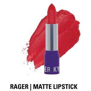 "Kylie Cosmetics ""Rager"" Matte Lipstick, NIB"